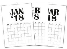 Ladattava kalenteri 2018!