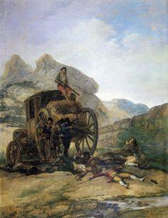Attack on a Coach (Francisco Jose de Goya y Lucientes  1793, The Athenaeum