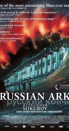 Directed by Aleksandr Sokurov.  With Sergey Dreyden, Mariya Kuznetsova, Leonid Mozgovoy, Mikhail Piotrovsky. A 19th century French aristocrat, notorious for his scathing memoirs about life in Russia, travels through the Russian State Hermitage Museum and encounters historical figures from the last 200+ years.