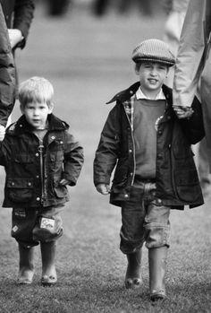 Harry and William.