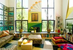 Todd Oldham / interior - I don't know why I love this, but I really do....
