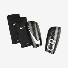 NIKE CR7 MERCURIAL LITE SHINGUARD FOOTBALL SOCCER 2015 Black/White