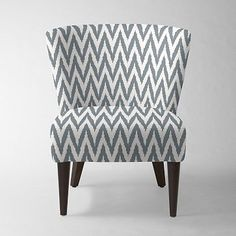 Veronica Taper Leg Chair - Prints #westelm