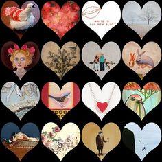 Teeny Tiny Art: Happy Valentine's Day