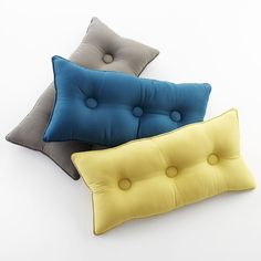 """Trois Teal 24""""x12"""" Pillow in Decorative Pillows 