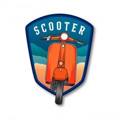 use on Motorbikes 90MM MODS SCOOTER LETS BE AVIN YA V WASP LEGSHIELD STICKER DECAL Leg Shields. Scooters Helmets