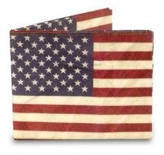 Mighty Wallet - Stars and Stripes van Dynomighty Wie kent hem niet, de Amerikaanse vlag. Vol sterren en strepen. Laat je liefde zien voor het land! #portemonnee #wallet #usa #amerika #cadeau #mannen #sinterklaascadeau #kerstcadeau #verjaardagscadeau #gadget #vaderdag