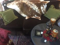 Henredon Dark Brown Sofa  - Auburn SKU ZYWW2N - $699.00
