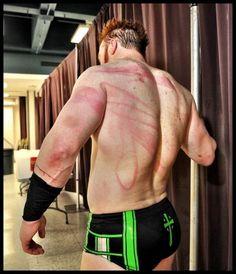 Who said wrestling was fake? Look at Sheamus