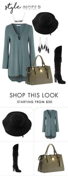 """""""Untitled #27"""" by paoyang ❤ liked on Polyvore featuring Sans Souci, Glamorous, Rebecca Minkoff, Miu Miu, Charlotte Russe, contestentry and styleinsider"""