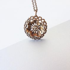 A bronze flower pendant by Finnish jewelry designer Kalevi Sara wish you have a stylish Monday ~ Jewelry Designer, Flower Pendant, Modern Jewelry, Finland, 1970s, Fashion Accessories, Vintage Fashion, Bronze, Photo And Video