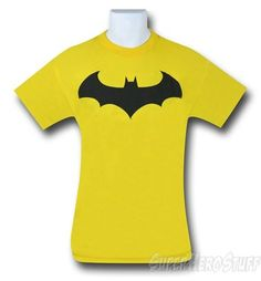 Batman Symbol IV Yellow T-Shirt