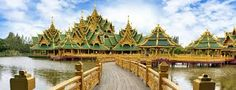 The kingdom of Buddhism, Thailand is one of the best places to tour in Asia. It is famous for Buddhist temples, beautiful beaches and wildlife