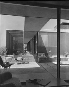 A beauty designed by Raphael Soriano in Los Angeles,1951 Discover the story of this amazing architect, click on the pic.