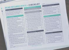 cub scout bear requirement checklist