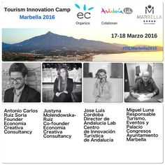Join the Crowd! Meet the Experts 'Tourism Innovation Camp Marbella 2016'    Une tu expertise y marca la diferencia en el 'Tourism Innovation Camp #Marbella 2016'    más detalles: https://tourisminnovationcampmarbella2016.wordpress.com/experts/