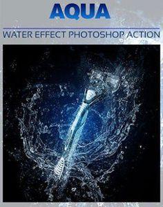 Aqua Photoshop Action – Usefulnext.com