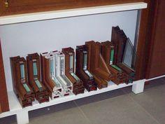 Sezioni varie finestre Pvc