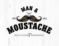 "Check out new work on my @Behance portfolio: ""Man & Moustache Branding.""…"