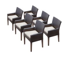 6 Napa Dining Chairs With Arms