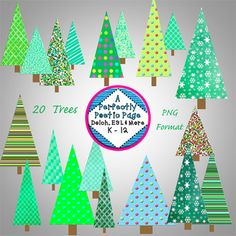 The world's first and largest educational marketplace with more than two million original teacher-created resources available for use today. Christmas Tree Clipart, Christmas Ornaments, Christmas Trees, Teacher Created Resources, Make All, New Product, Digital Scrapbooking, Clip Art, Invitations
