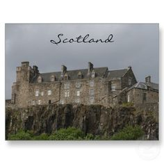 Day trip) Stirling castle Scotland. Can take a train to Stirling then walk/taxi to castle