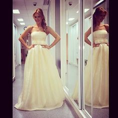 Beautiful Magda Palimariu wearing a Parlor Bridal dress! #parlorstudio #bridal #special #dress #princess