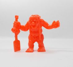 Monster In My Pocket - Series 1 - 42 Charon - Neon Red - Mini Figure