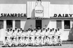 shamrock tucson az | The Tucson Shamrock Daily plant. (Shamrock Foods)  A Tour from Roger's Elementary School in 1962 or 1963 at age 7 or 8 years old. Been to this place.