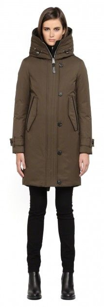 VILLA ARMY WINTER DOWN PARKA WITH HOOD