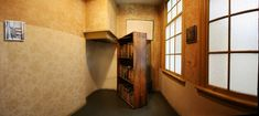 One of the most impressive places on our list of places to visit in Amsterdam is the Anne Frank Hous Secret Rooms In Houses, Passage Secret, Hidden Passageways, Murphy Door, Secret Space, Hidden Rooms, House Inside, Tiny Spaces, Historic Homes