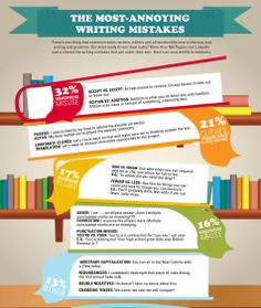 The most annoying writing mistakes
