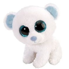 "Rare Beanie Boos | Snow the Polar Bear (6"")"