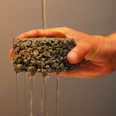 Porous concrete gives the look you're wanting while reducing stormwater at the same time!