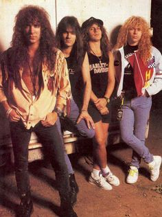 Firehouse. 1st concert. Seen them with Warrant and Trixter.