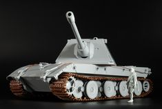 The Modelling News: In-Boxed - We take a look at Amusing Hobby's 1/35th scale Jagdpanzer E-100