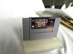 Vintage 1991 SNES Super Nintendo Raiden Trad Game Cartridge Only Protection Case