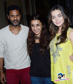 Amy and Prabhudeva Promote Singh Is Bliing -- Prabhu Deva and Amy Jackson Picture # 318954