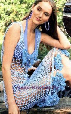 15 Пляжное платье