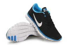 size 40 a2a6c dcb4d Nike Free 3.0 V2 Womens New Reflective Silver Platinum Black SkyBlue  Discount Nike Shoes, Nike