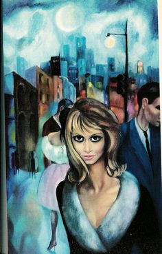 """Escape"" by Margaret Keane - hanging in my living room"