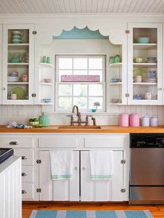 Exploring Kitchen Solutions For A Problematic Space - Cozy Little House