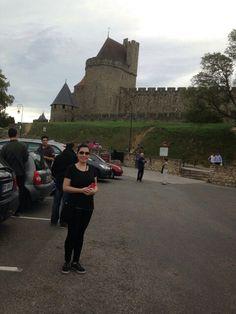 The castle Carcassonne