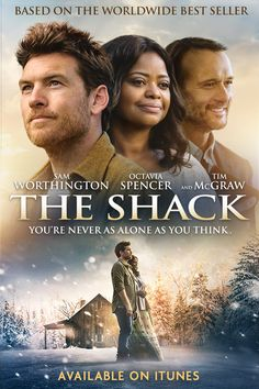Based on the New York Times best-selling novel, The Shack takes us on a father's transformative and spiritual journey that will show him the ultimate truth about love, loss, and forgiveness. On Digital HD Blu-ray and DVD I WANNA SEE THIS! See Movie, Movie List, Movie Tv, Movies Showing, Movies And Tv Shows, Spiritual Movies, Films Chrétiens, Christian Films, Image Film
