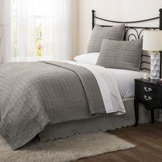 Found it at Wayfair - Crinkle Solid Quilt Set in Gray http://www.wayfair.com/daily-sales/p/Charming-Quilts-%26-Comforters-Crinkle-Solid-Quilt-Set-in-Gray~LJD3376~E18453.html?refid=SBP.rBAZEVSOH04pc3-3dhCGAkwEoumvFUC3pvt_iLd0kAk