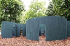 Pezo Von Ellrichshausen - Pavilion, Venice Biennale, 2016