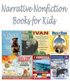 72 Best Narrative Nonfiction Books For Elementary School Children