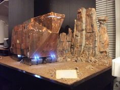Modellours Workshop: Star Wars Sandcrawler - Diorama of the Day