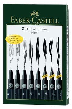 Faber-Castell Wallet Pitt Set de bolígrafos de arte, surt... https://www.amazon.com.mx/dp/B005HF562K/ref=cm_sw_r_pi_dp_yb6oxbAPD425Y