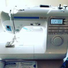 New equipment! Thanks Chris @qualitysewing! #babylocksewing #qualitysewingandvacuum